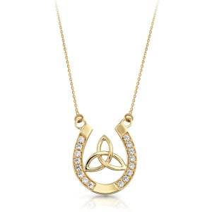 9ct Gold Celtic Pendant-P016