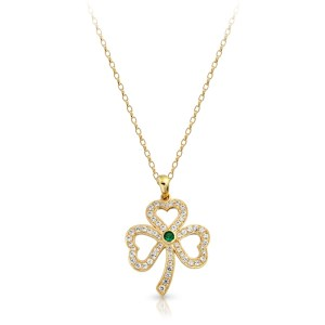 9ct Gold Celtic Pendant-P019S