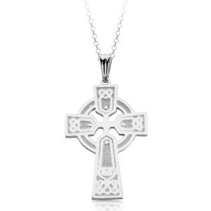 Silver Celtic Cross-SC04
