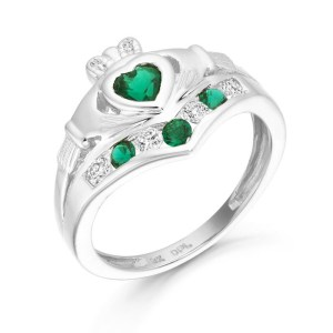 Silver Claddagh Ring-SCL29