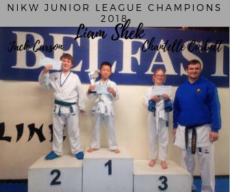 NIKW Junior league 2018 champions