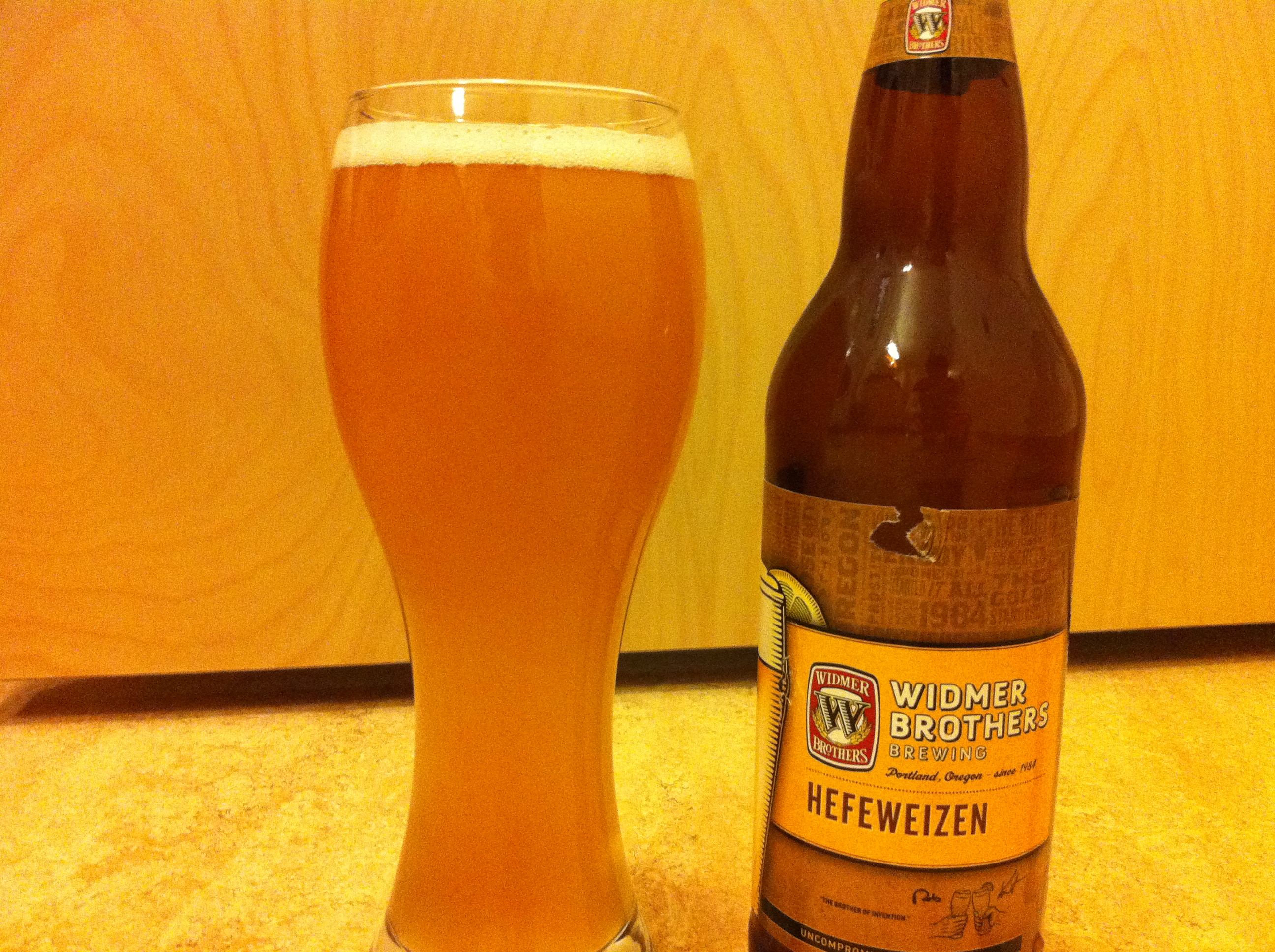 OREGON: Widmer Brother Hefeweizen – Guest Post by Matt Anderson