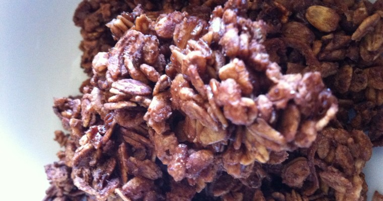 "Homemade ""Firebird"" Cocoa Crunch Cereal"
