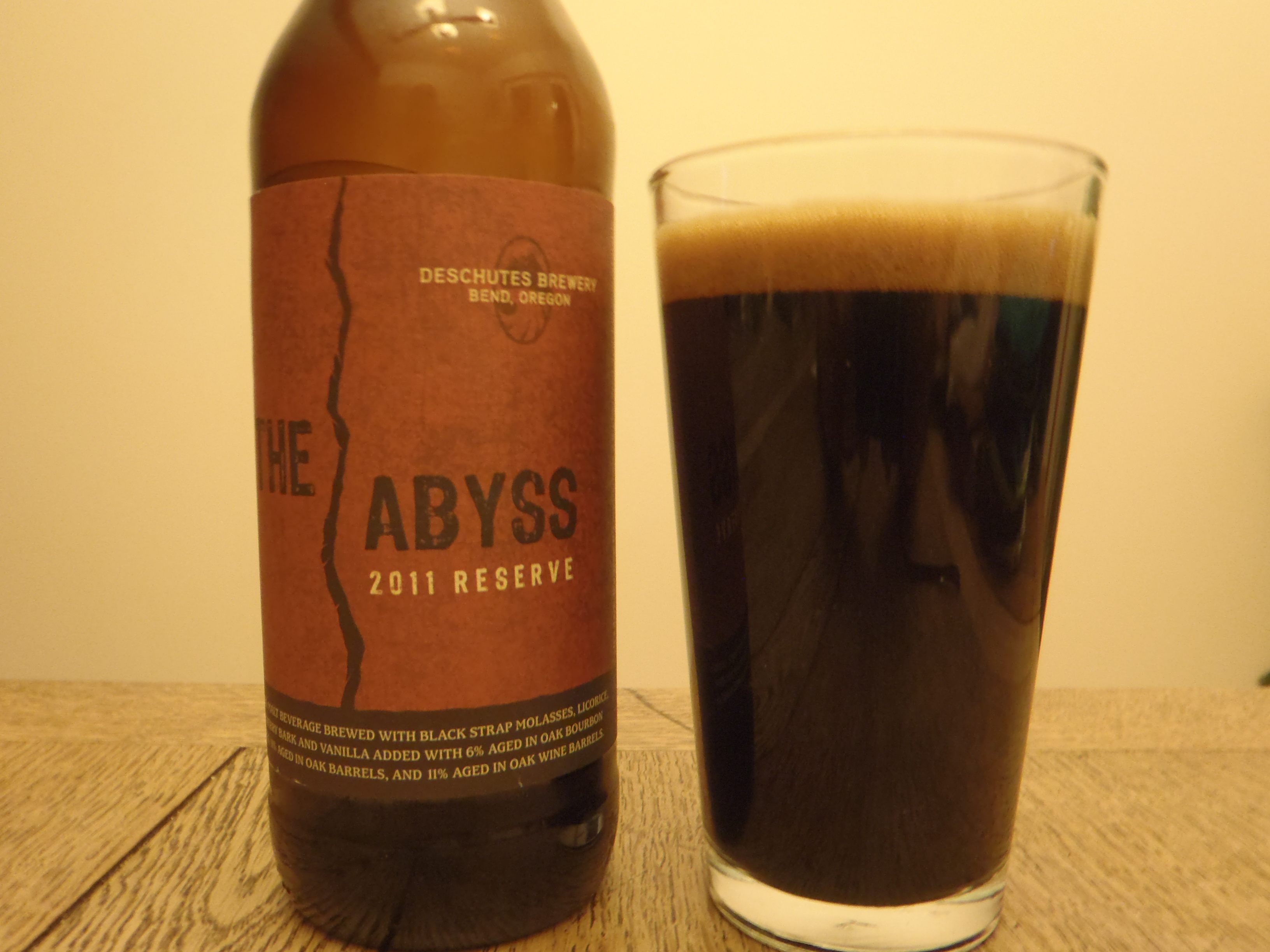 Deschutes Brewery: The Abyss 2011 Reserve