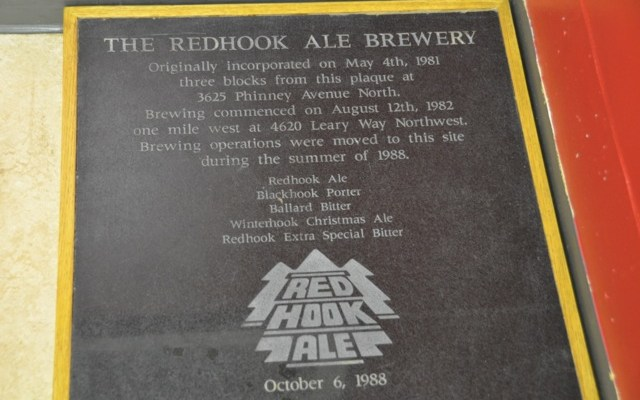 The Redhook Brewery Tour