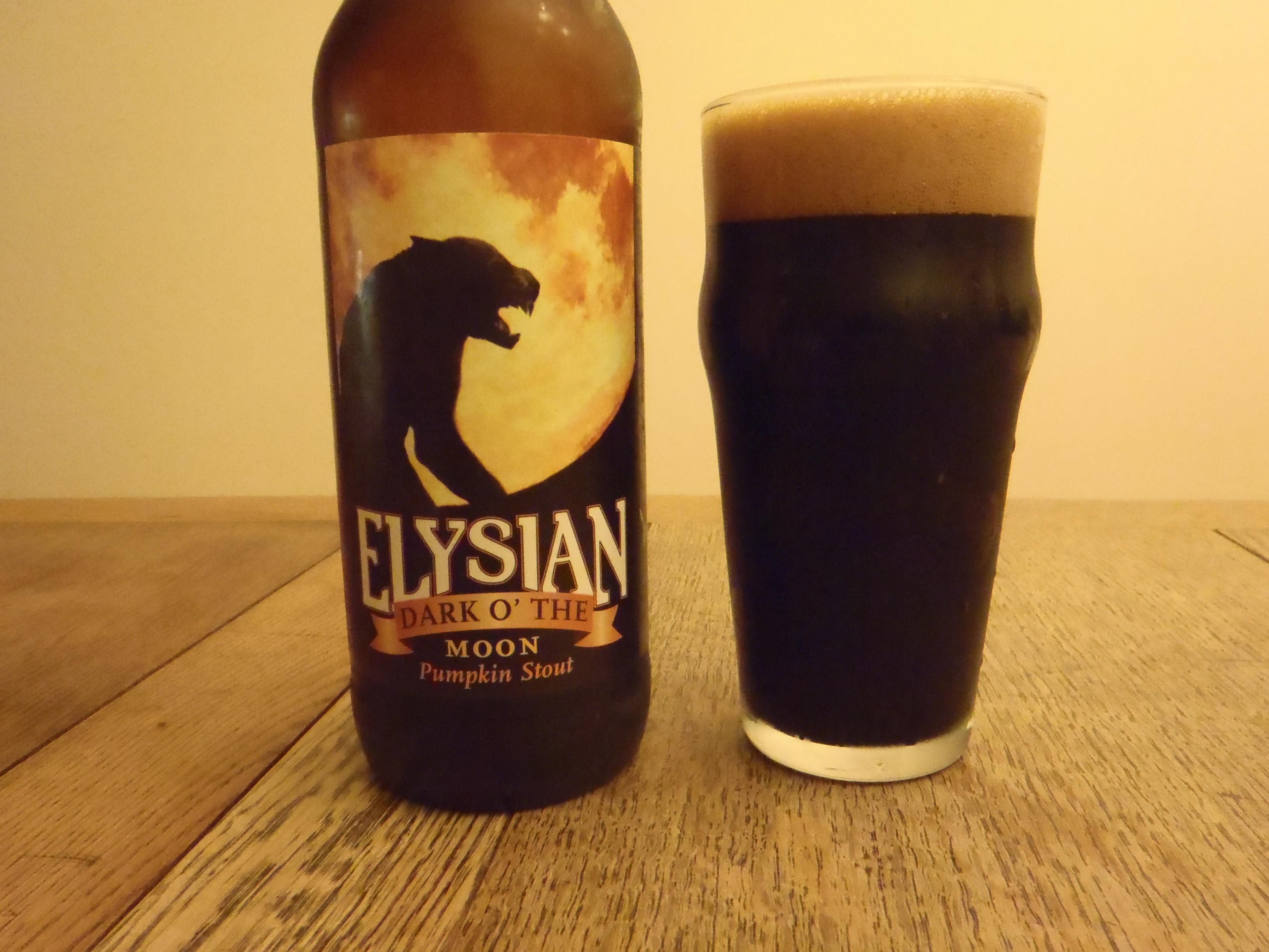 Elysian Dark o' the Moon Pumpkin Stout