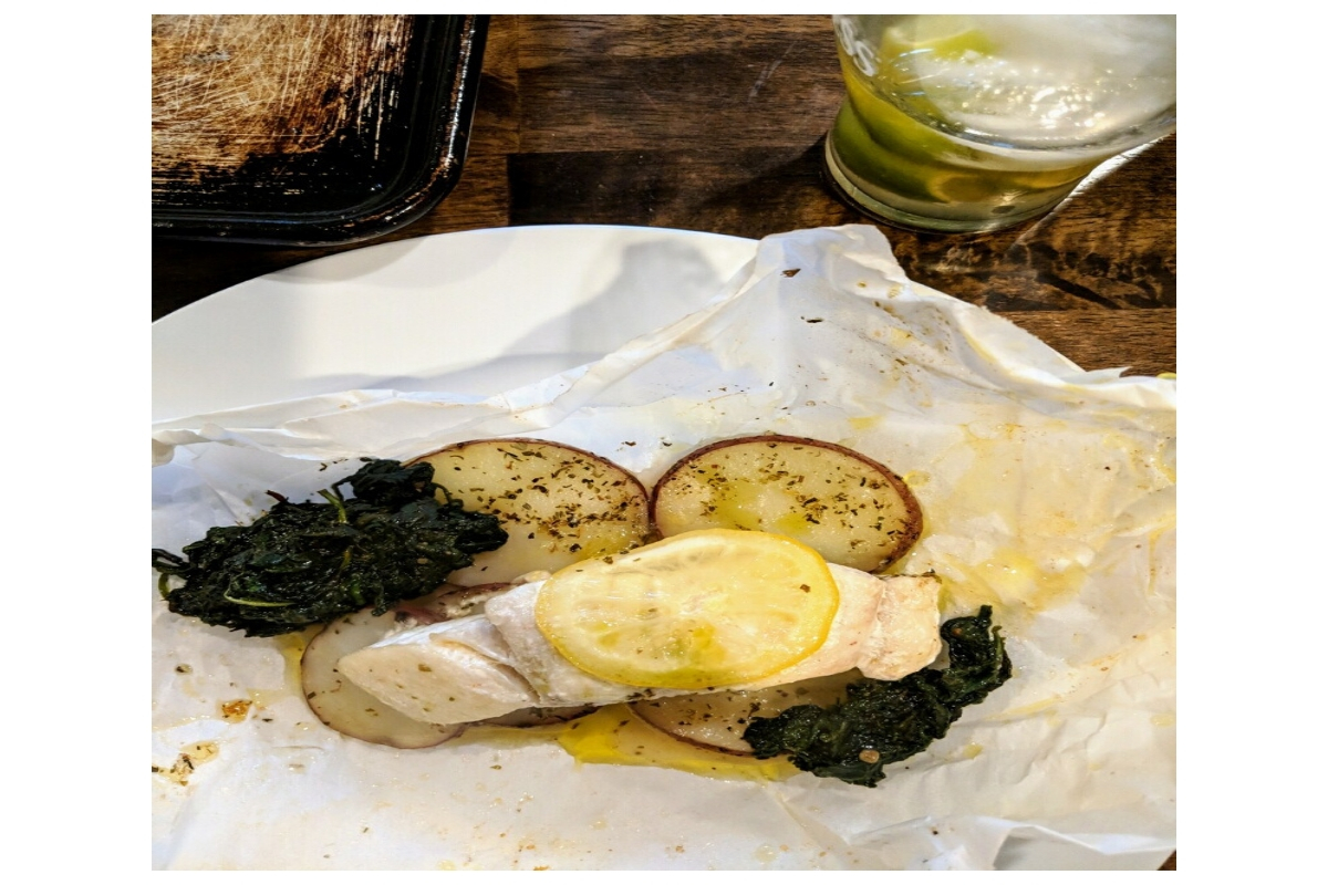 Fish en Papillote (in presents)