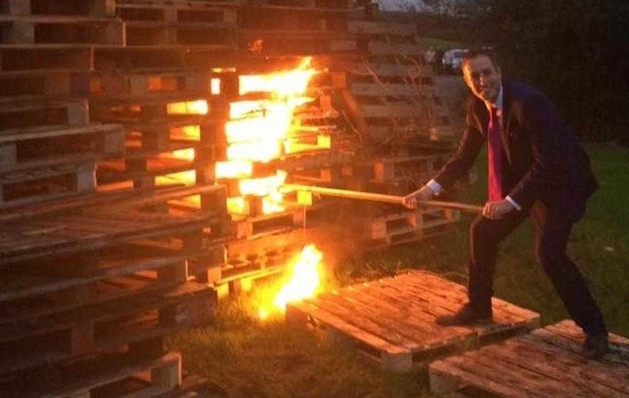 Image result for Politicians at Bonfires
