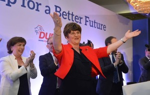 Image result for Charlie Flanagan surprised by Arlene Foster's claim of poaching investors from the North