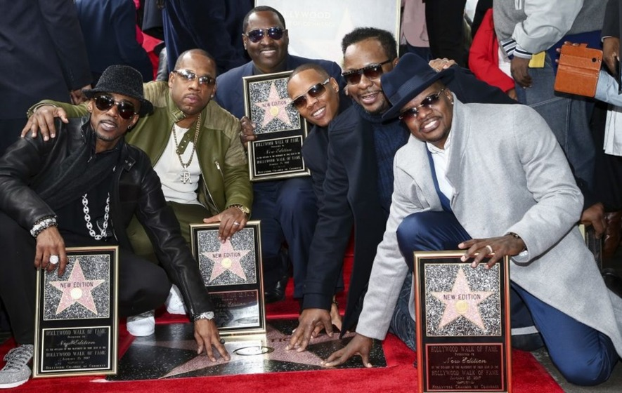 Image result for new edition walk of fame 2017