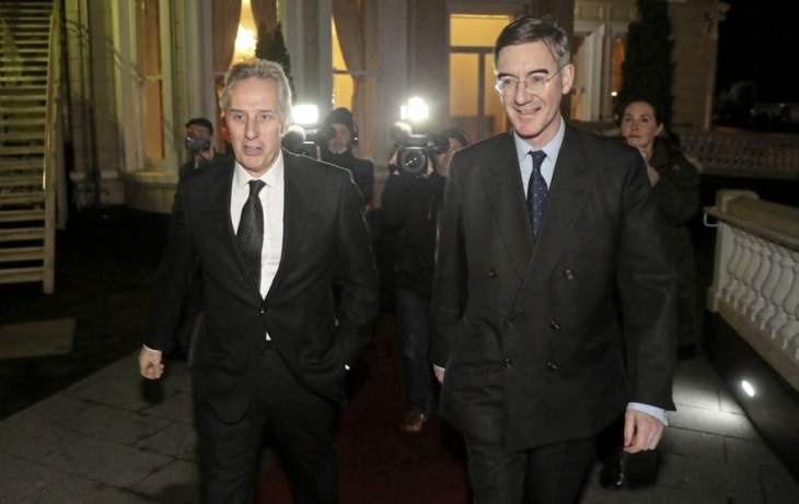 Image result for DUP MOGG:Jacob Rees-Mogg defends attendance at DUP fundraiser hosted by Ian Paisley - BelfastTelegraph.co.uk