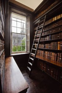 Interior of Marsh's Library © Marsh's Library (CC)