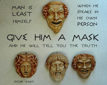 give him a mask
