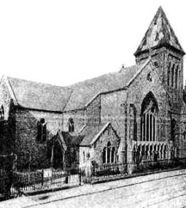 St Peter's Church, 1880 Wikimedia, Public Domain