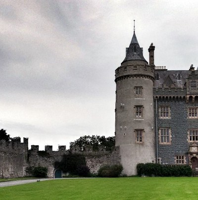 Killyleagh Castle, family home of Archibald Hamilton Rowan (c) Irish Philosophy, CC BY.