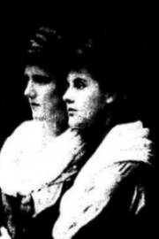 "Eva Gore Booth and Constance Markievicz From ""The Prison Diaries of Constance Markievicz"""