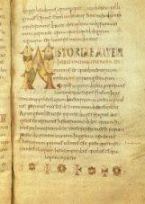Manuscript page of Etymologies