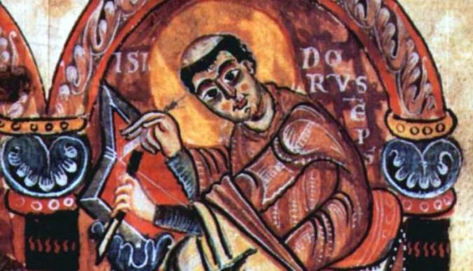 Manuscript image of Isidore