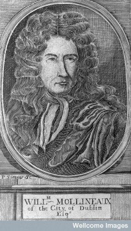 Engraving of William Molyneux