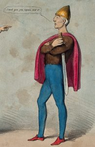 The Duke of Wellington as an Irish chieftain
