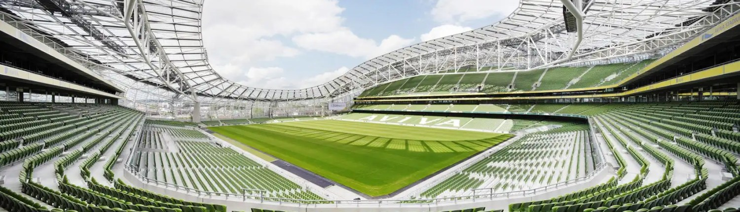 Irish Rugby Tours - Aviva Stadium Dublin