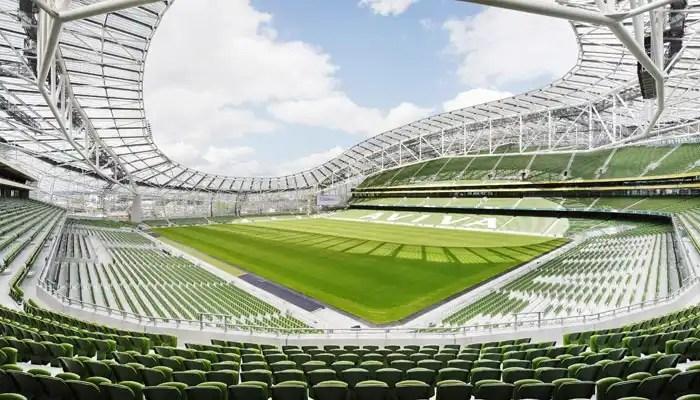 Irish Rugby Tours to Dublin - Aviva Stadium