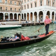 Irish Rugby Tours to Italy - Venice - Gondola Canel Ride