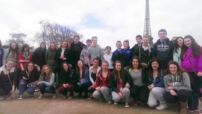 St. Mac Daras College Paris Rugby Tour