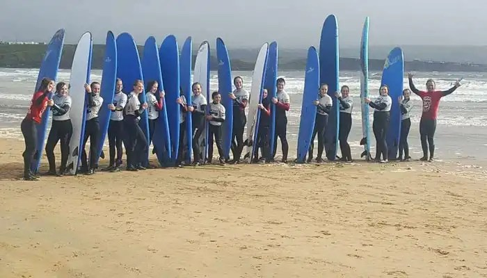Irish Rugby Tours to Galway - Surf School