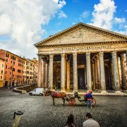 Irish Rugby Tours to Italy - Rome - Pantheon
