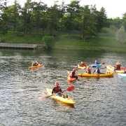 Kayaking at Creggan Country Park