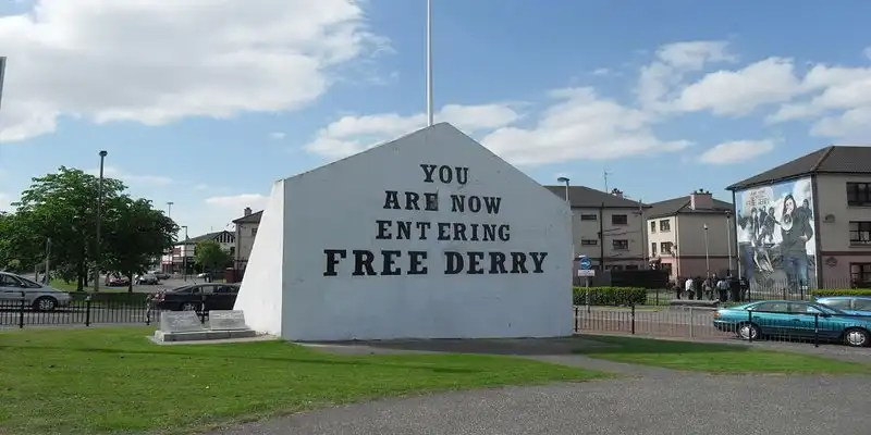 Free Derry Wall - Irish Rugby Tours, Rugby Tours To Derry