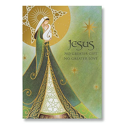 Irish Christmas Madonna And Child Irish Christmas Cards