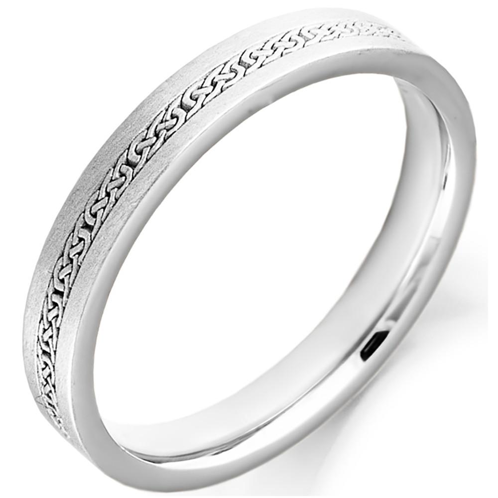 Irish Wedding Ring Mens Celtic Knot Gold Irish Wedding