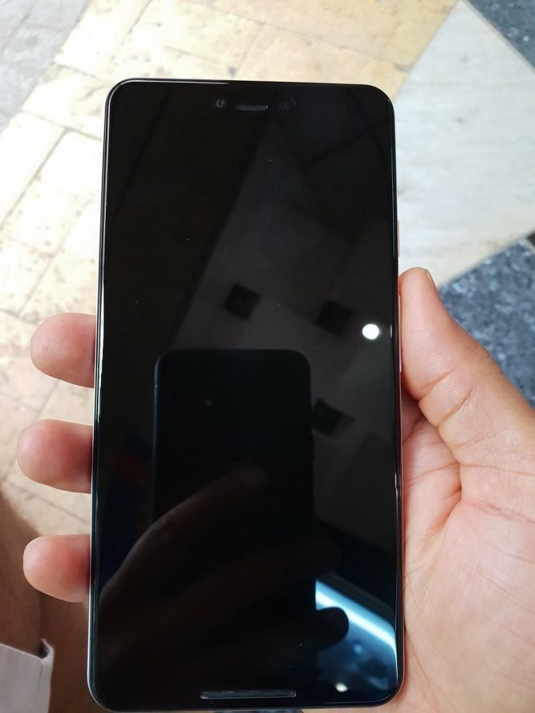 The Google Pixel 3 XL.