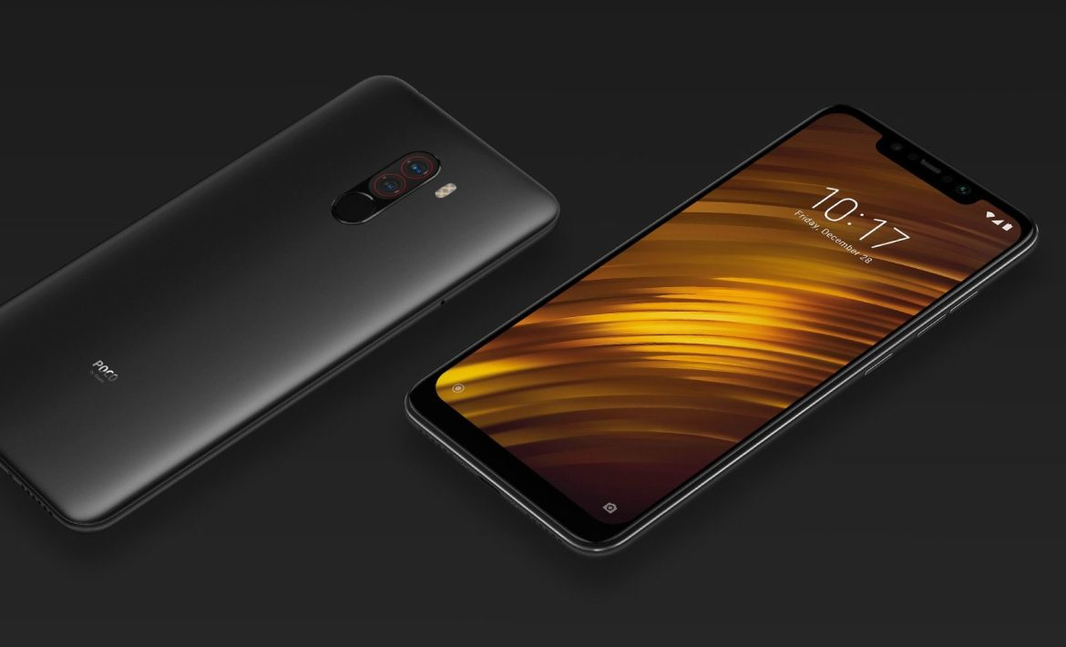 The Xiaomi Pocophone F1.