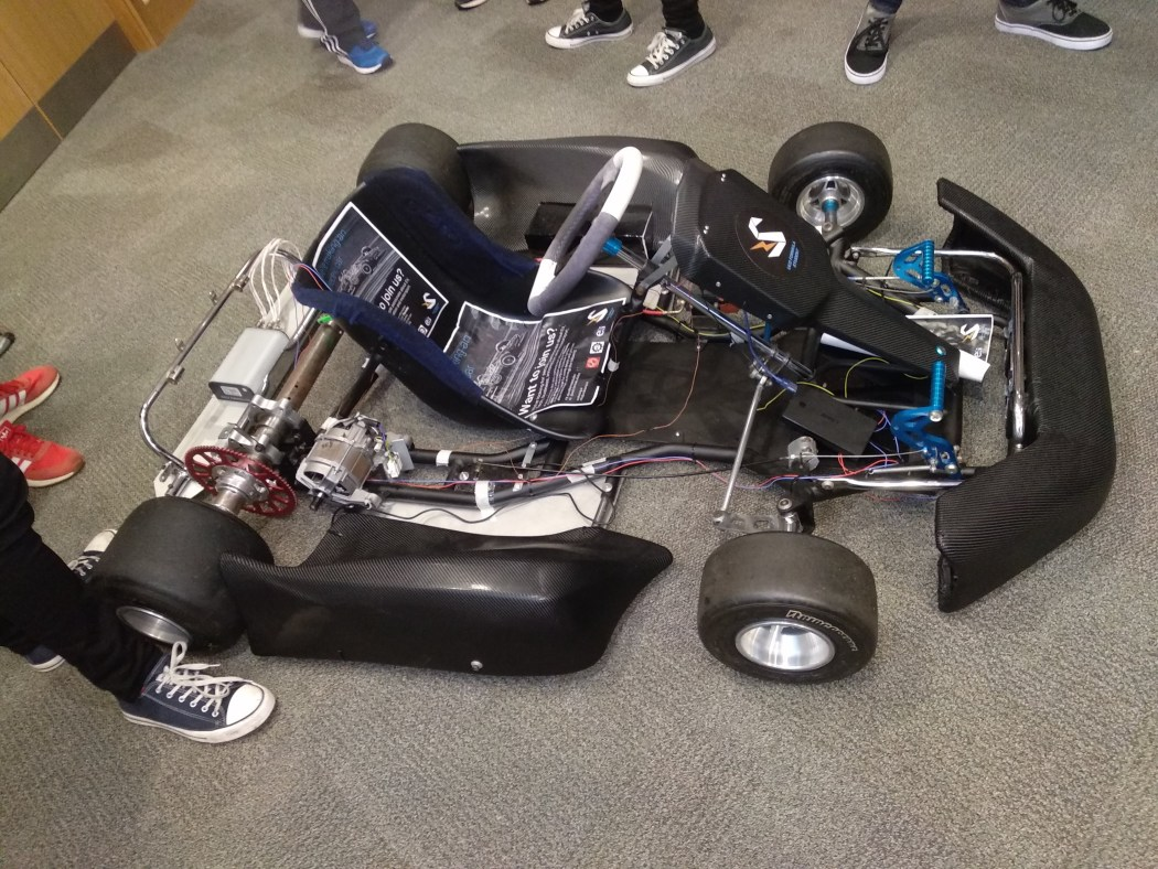 UCD prototype vehicle for Formula Student