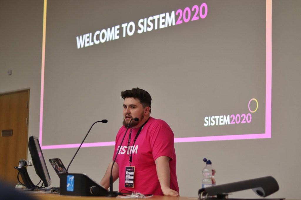 James McDermott at SISTEM 2020