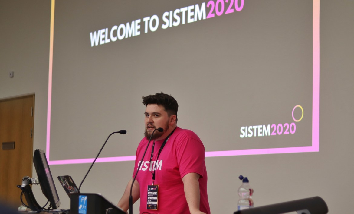 James McDermott at SISTEM 2020