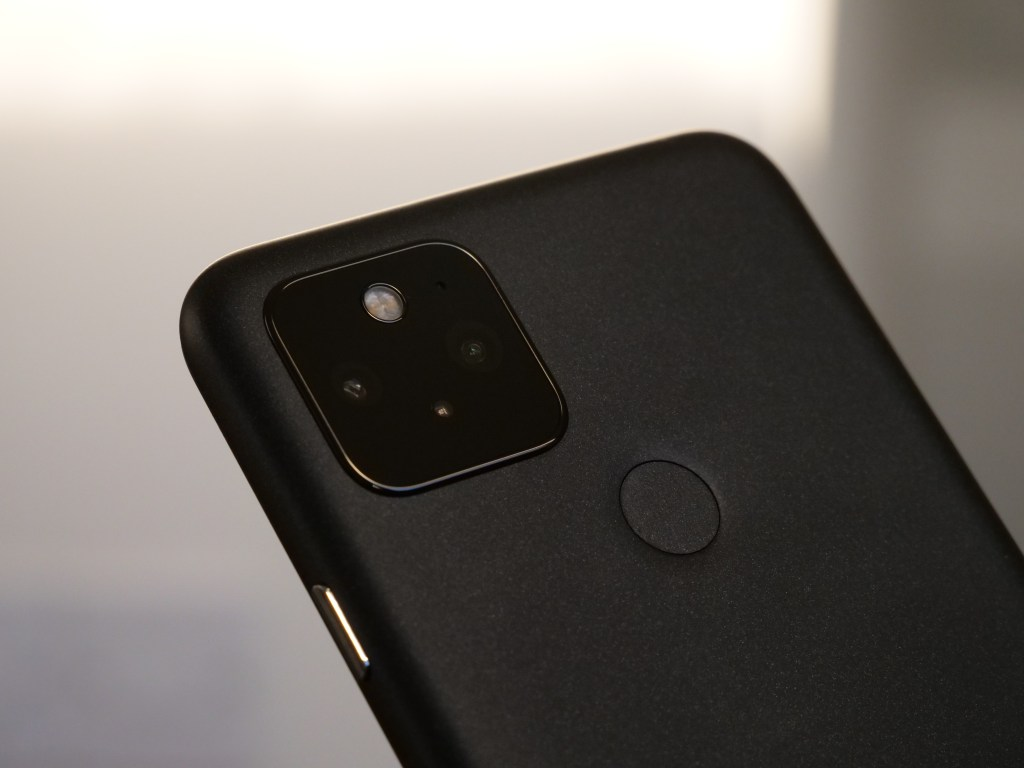 The back of the Google Pixel 5