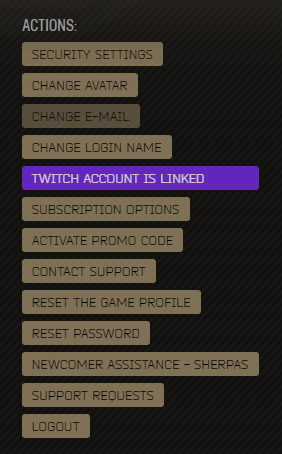 How to link your Escape from Tarkov Account to Twitch