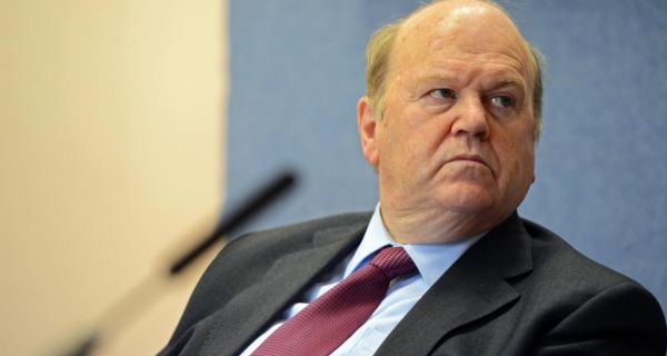 Minister for Finance Michael Noonan.  Photograph: Eric Luke / THE IRISH TIMES