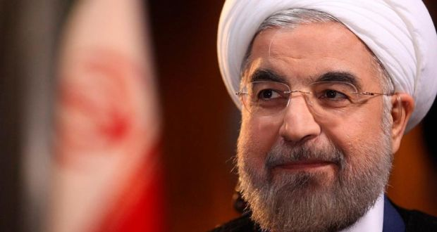 """President Hassan Rouhani: offered the Bush administration a """"grand bargain"""" back in 2003/2004. Photograph: Reuters"""