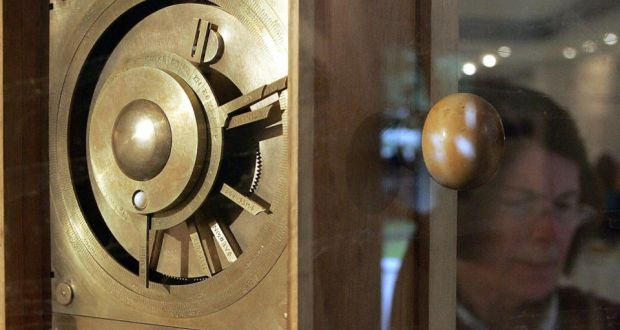 A reconstruction of Antikythera Mechanism in Athens. Photograph: Louisa Gouliamaki/AFP/Getty Images