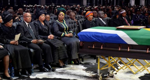 Image result for South Africa buries Winnie Mandela