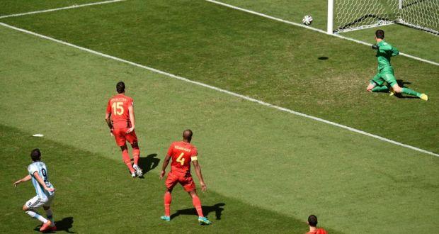 Image result for higuain goal vs belgium