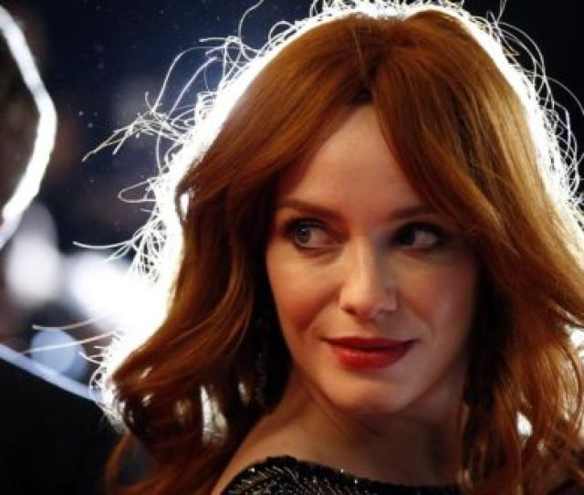Christina Hendricks People Think Im Joan They Think Im Sexy And Sophisticated And Really Cool