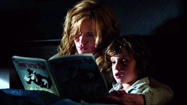 Essie Davis and Noah Wiseman in Jennifer Kent's The Babadook
