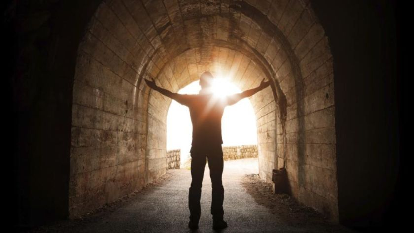 After death, is there light at the end of the tunnel?