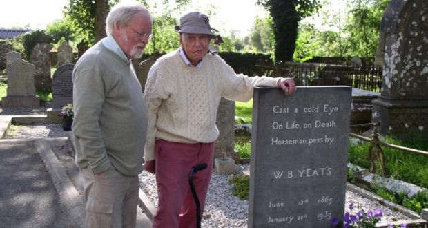 Jack Harte and former poet laureate of the United States William Meredith